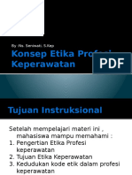 Konsep Etika Profesi Keperawatan