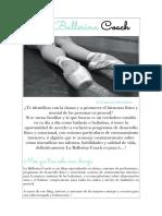 Texto Promocional - La Ballerina Coach