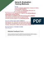 criteriad-evaluation