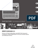 Behringer Qx2442usb Eng Manual
