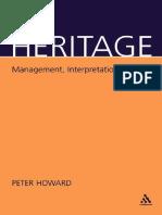 247265599 Heritage Management Interpretation Identity
