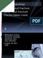 Kuliah Fractur Basis Cranii