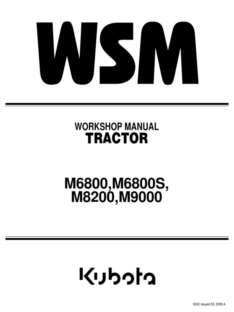 M6800 Wiring Diagram