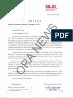 Kërkesa e PS dhe LSI dërguar në KQZ