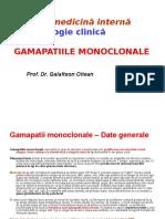 Gamapatii Monoclonale - Curs