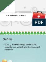 8. Erupsi Obat Alergi-kelompok g