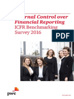 Internal Control Over Financial Reporting (ICFR) - ICFR Benchmarking Survey 2016 by PwC