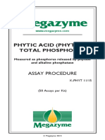 Phosphorus K-phyt Data