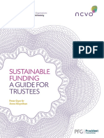 NCVO Sustainable Funding for Trustees