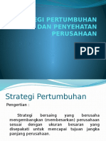 Strategi Pertumbuhan Perusahaan