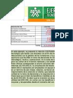 Ejercicio Excel Costo Beneficio logistica