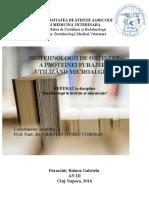 Biotehnologii de obtinere a proteinei furajere utilizand microalgele