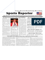 April 19 - 25, 2017  Sports Reporter
