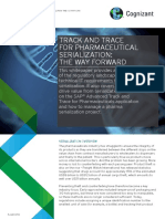 Track and Trace for Pharmaceutical Serialization the Way Forward