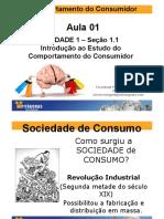 Aula 01 - Introdução Ao Estudo Do Comportamento Do Consumidor