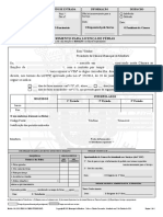 Modelo 260 Requerimento Para Licenca de Ferias