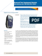 JDSU DSM-6300 Datasheet