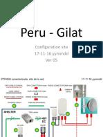Peru - Gilat - Configuration Site - Ver05