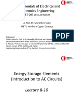 EEE 209 Presentation 4 (Energy Storage Elements)