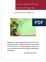 MBSR Practice Manual