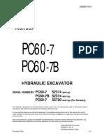 SM PC60-7 SEBD010911
