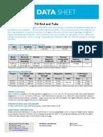 Beryllium Copper (C17200) Datasheet