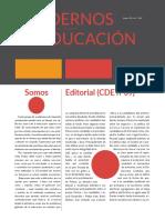 Cuadernos de Educación DIC-FEB (Año XI) nº39