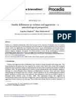 Gender differences in violence and aggression – a neurobiological perspective