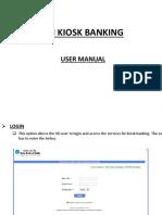 SBI MiniBank User Manual Ppt Presentation
