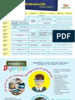 Programacion del pabellón de la Feria Internacional del Libro 2017