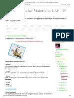 Tecnología de Los Materiales UAP - IV Ciclo_ CAPITULO 4 _ MaterialesPétreos Naturales