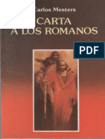 Carta a Los Romanos, San Pablo Bogotá 1993, MESTERS Carlos,