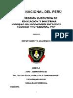 MODULO DESARROLLADO TALLER LIDERAZGO Y TRANSPARENCIA 2017.docx