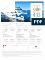 Princess Cruise Lines Sale