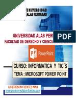 SESION 10 Entorno-Power Point Tema 01 ---2017 (Actividades)