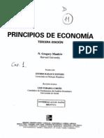 Mankiw Introducción a economia Capitulo I