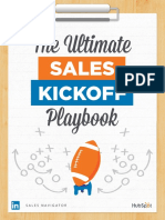 Linkedin the Ultimate Sales Kickoff Playbook en Us