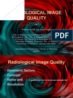 Radiological Image Quality