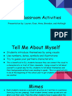 ell classroom activities