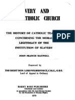 Slavery and the Catholic Church
