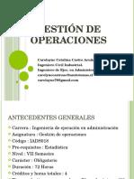 Gestión de Operaciones 1