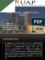 Cemento en El Peru