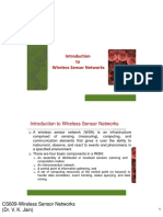 Introduction of Wieless Sensor Networks