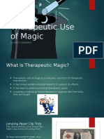 therapeutic use of magic