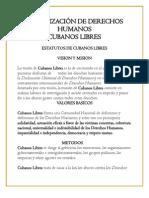 ORGANIZACIÓN DE DERECHOS HUMANOS