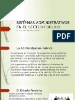 Sistemas Administrativos en El Sector Publico