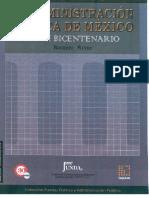 2009 143 La Administracion Publica de Mexico en Su Bicentenario