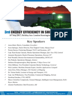 3rd Energy Efficiency in Shipping Conference Agenda Brochure 2017