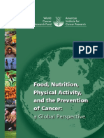 Food Nutrition, Physical Activity and the Prevention of Cancer - A Global Perspective