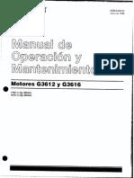 Manual CAT Español G-3612